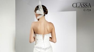 Suknia slubna CLASSA Nr C-724