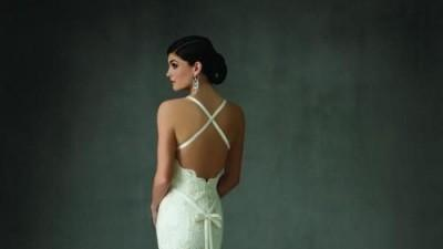 Suknia ślubna Cosmobella 7318 Lisa Ferrera 2009