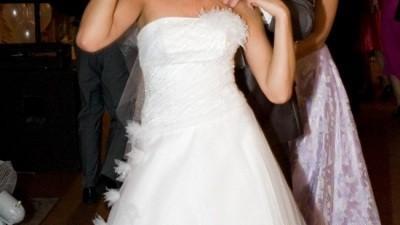 suknia ślubna!!!Cudna