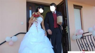 suknia slubna CYMBELINE biała
