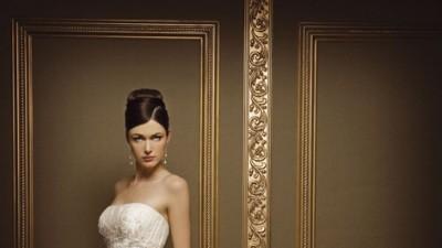 Suknia ślubna Demetrios 1341 kolekcja 2008