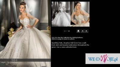 Suknia ślubna Demetrios 2010