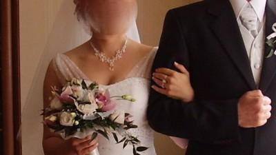 Suknia ślubna DIAMENTOWY PYŁ
