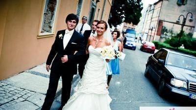 Suknia ślubna DIVINA SPOSA Ecru z trenem 2009