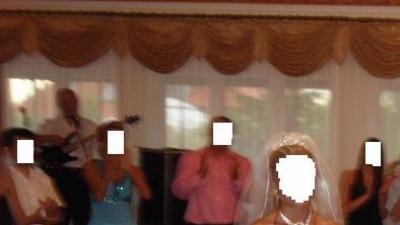 Suknia ślubna dla filigranowej kobietki