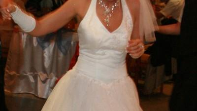 Suknia ślubna dla księżniczki