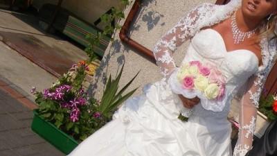 Suknia Ślubna Dla Wyjatkowej Kobiety....Poczuj sie jak Księżniczka+GRATISY