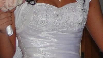 Suknia ślubna dla wyjątkowej panny młodej !!!