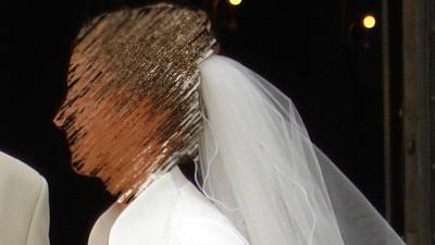 suknia ślubna dla wysokiej i szczupłej- ecrue