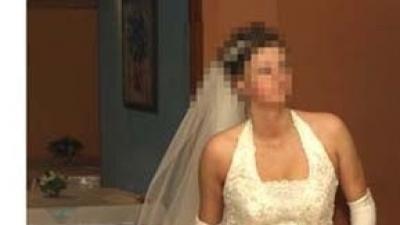 Suknia ślubna dla wysokiej panny młodej EDDY K