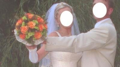 Suknia ślubna +dodatki, rozm.38, cena 550zł