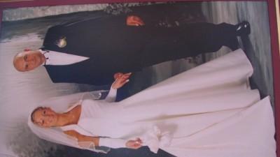 Suknia ślubna + dodatki w b.dobrym stanie i niedrogo