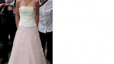 Suknia ślubna-dwuczęściowa