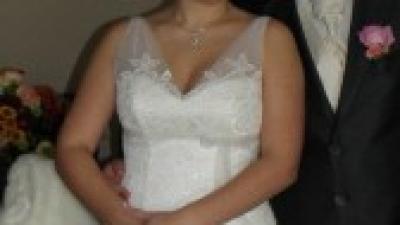 Suknia Ślubna Earleen (ecriu)