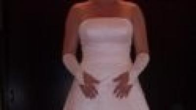 Suknia ślubna ecri 38+