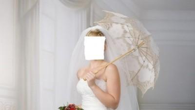 Suknia ślubna ecri 400 zł