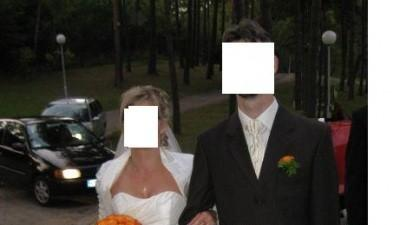 suknia ślubna ecri - firmy AGNES