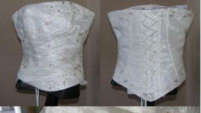 Suknia ślubna, ecri, rozm.38,