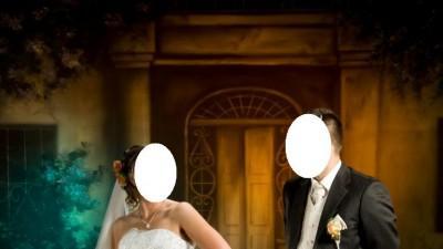 suknia ślubna ecru DOLORES