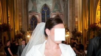 suknia ślubna ecru Kraków 40-42
