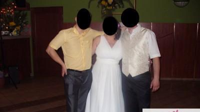 Suknia ślubna ecru. Rozmiar 38-44 + gratis