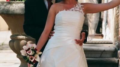 suknia ślubna ecru,rozmiar 38