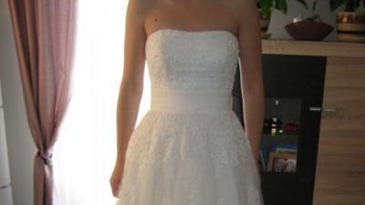Suknia ślubna EGLANTINE (ST 121 ACADIE) rozm. 38-40 salon MADONNA