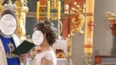 Suknia Ślubna Elena Anna Kara r. 38, cena 1350 zł, na 166+5 cm