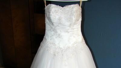Suknia ślubna Elena STAN IDEALNY + GRATIS