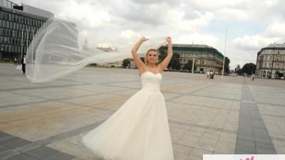Suknia ślubna emmi mariage NATASHA ecru 38/40