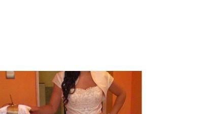 """suknia slubna  """"ERICA MARIE"""" ecru"""
