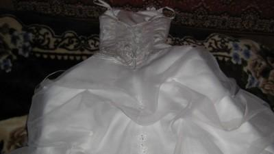 Suknia Ślubna Estera wraz z bolerkiem odpinany tren