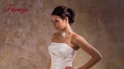 Suknia ślubna FARAGE ecru