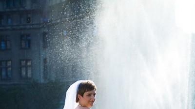 Suknia ślubna firmy Cosmobella