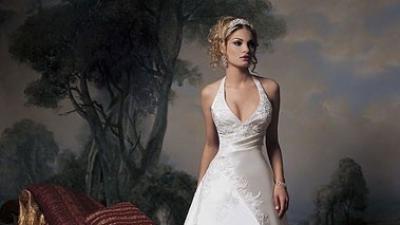 Suknia ślubna firmy DEMETRIOS