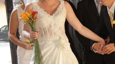 ef7ffa8470 Przepiękna i unikatowa suknia La Sposa-Florida!! Swarovski + perełki ...