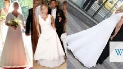 """Suknia ślubna firmy Emmi Mariage z kolekcji 2010 model """"Lilea"""""""