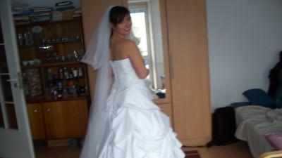 Suknia ślubna firmy GALA 36/38 wzrost 168+obcas