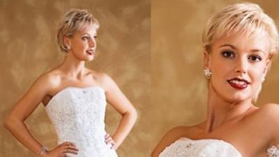 Suknia ślubna firmy Herm's model Kelaz