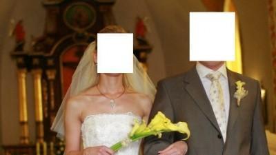 suknia ślubna firmy karina