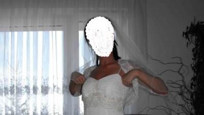 Suknia Ślubna Firmy Margarett Rimini R 36