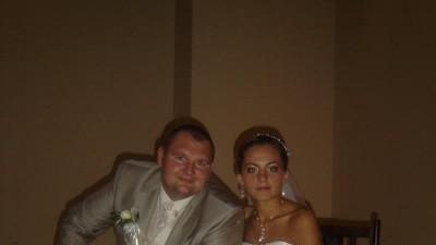 Suknia ślubna firmy SPOSA 2008+ wszystkie dodatki