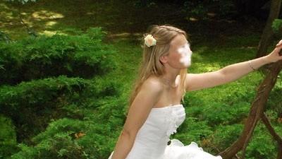Suknia ślubna francuskiej firmy Complicite