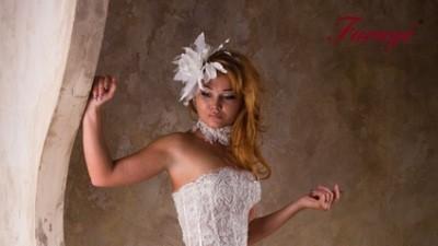 """Suknia Ślubna francuskiej firmy Farage model """"Mango"""""""