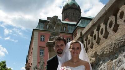Suknia ślubna Fulvia od Mariees de Paris, biała