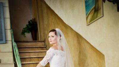 suknia ślubna GALA/ZASTA biała