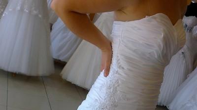 Suknia ślubna + GRATIS 3/4 bolerko