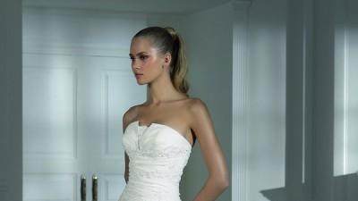 suknia ślubna hechizo roz.46 + bolerko