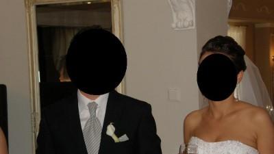 suknia ślubna herm's księżniczka kryształki svarowskiego z salonu cymbeline