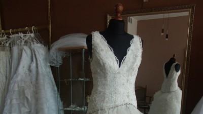 Suknia ślubna Herms!